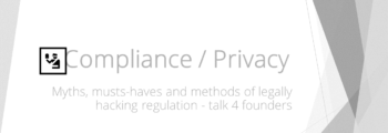 Compliance & Data Privacy for Digital Health Workshop at DHC #7