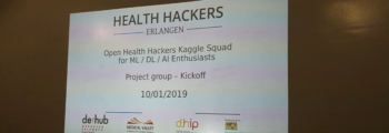 Open Health Hackers Kaggle Squad for ML / DL / AI Enthusiasts #1